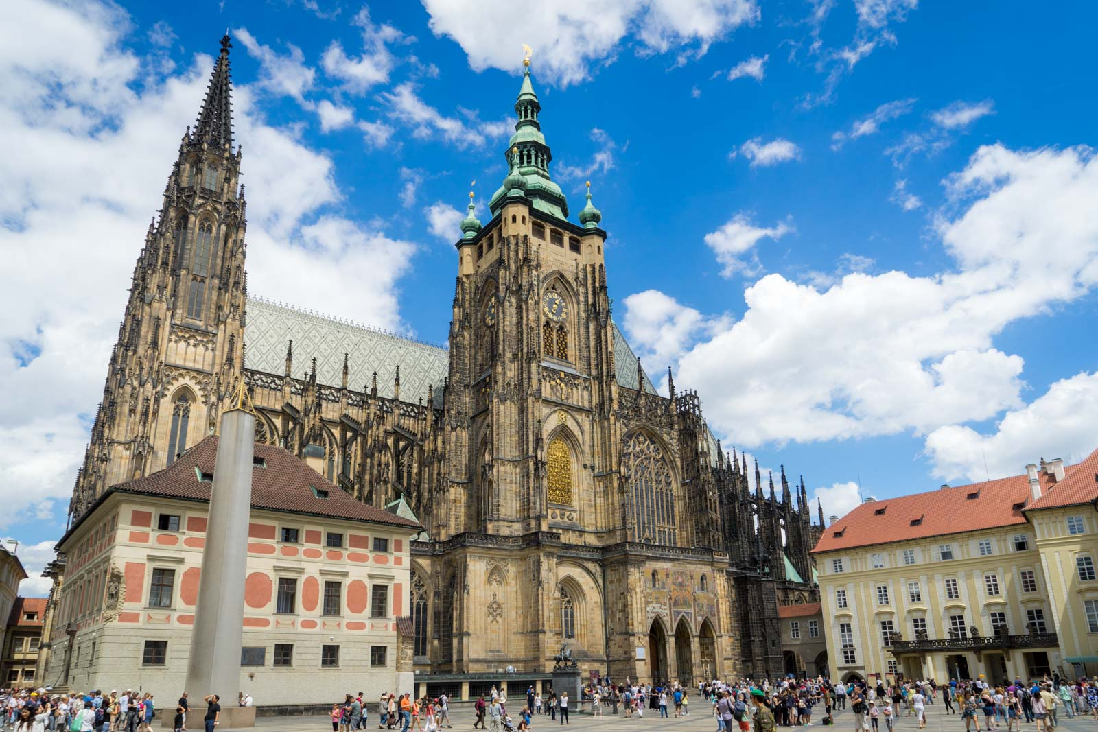 visit St. Vitus Cathedral