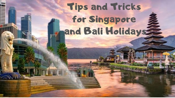 Tips and Tricks for Singapore and Bali Holidays