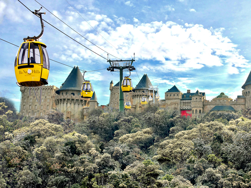 Ba Na Hills Top 10 Theme Parks in Vietnam Cambodia