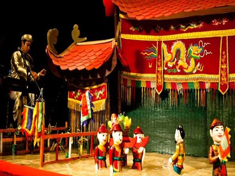 Thang Long Water Puppet Show Top 10 Theme Parks in Vietnam Cambodia