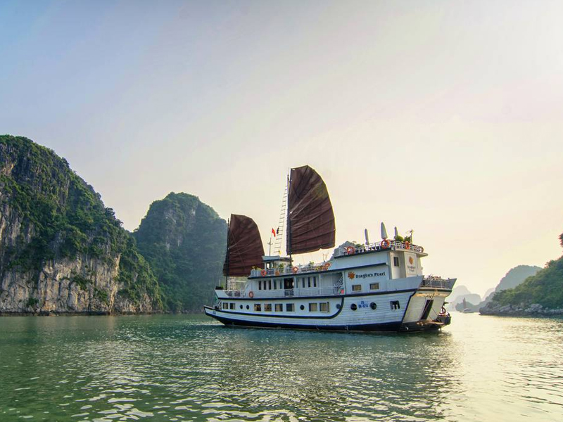 Traditional Han River Dragon Cruise  Top 10 Theme Parks in Vietnam Cambodia